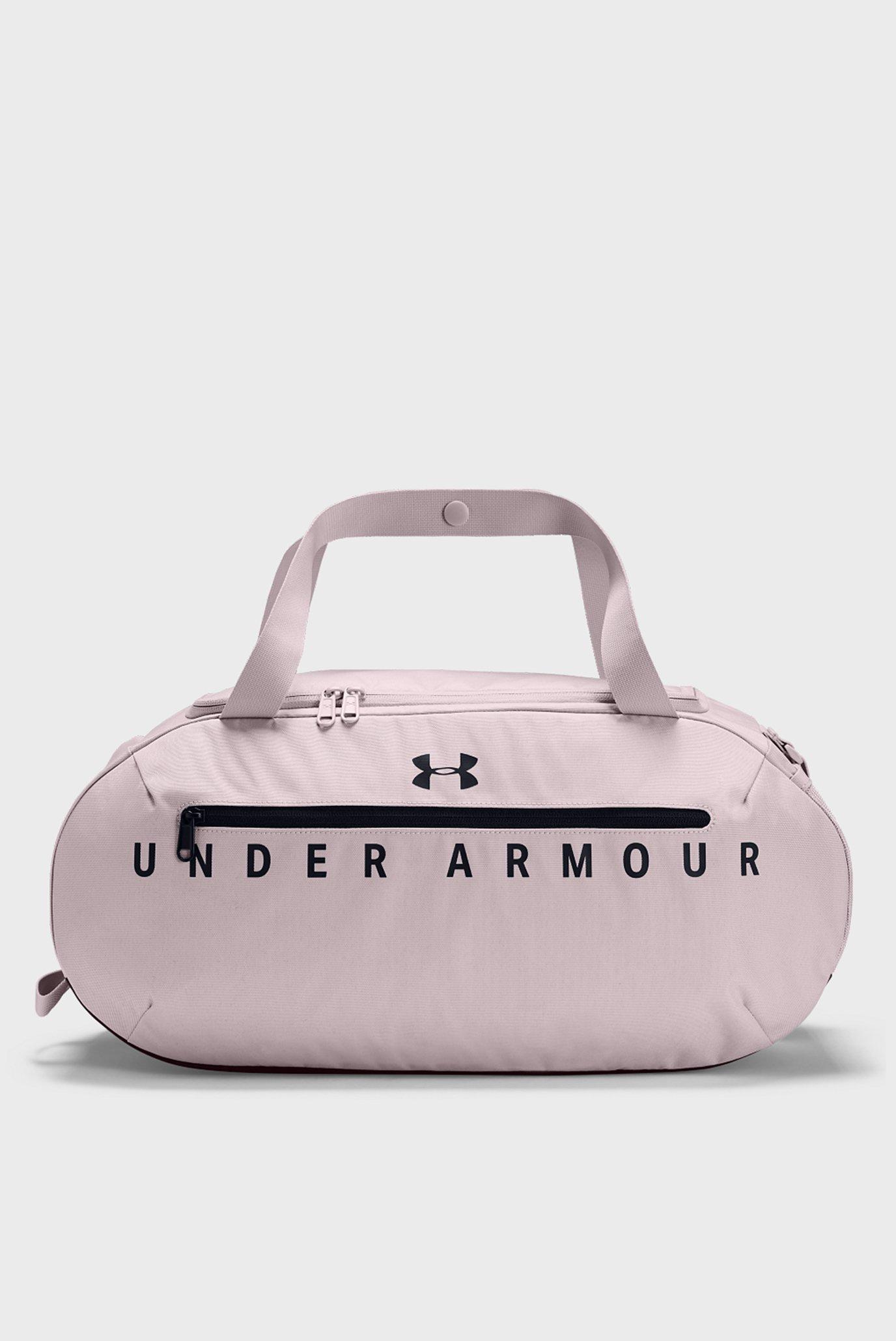 Розовая спортивная сумка UA Roland Duffel SM Under Armour