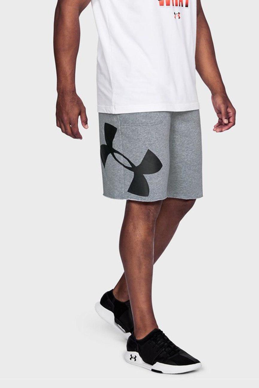 Мужские серые спортивные шорты Rival Exploded Graphic Short