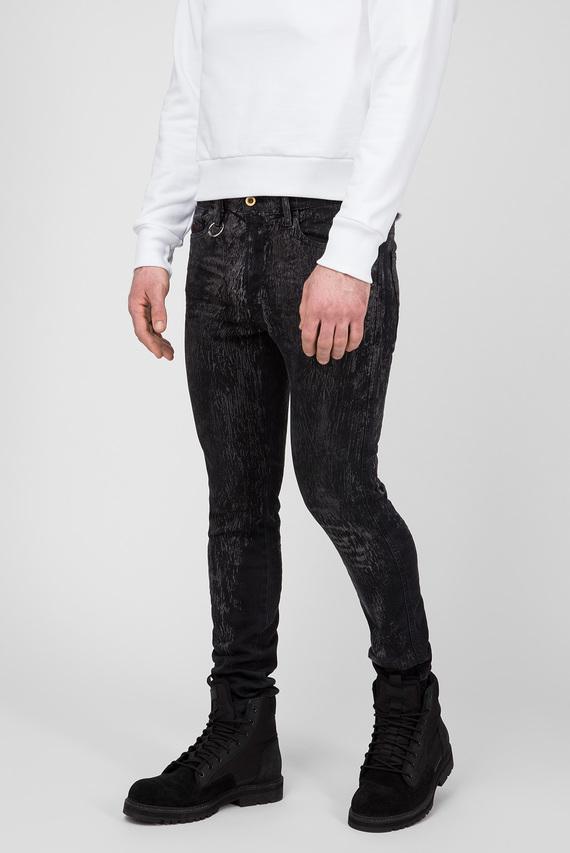 Мужские черные джинсы D-ISTORT