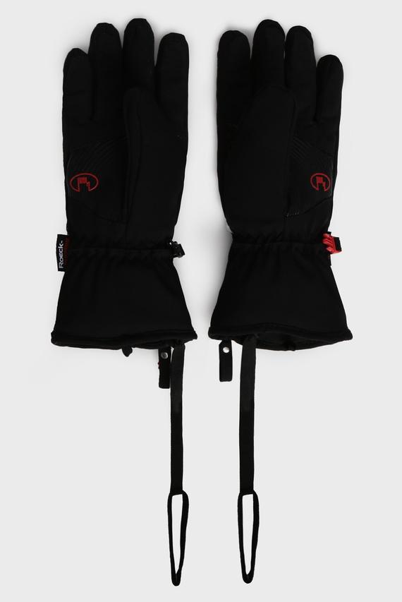 Женские черные перчатки