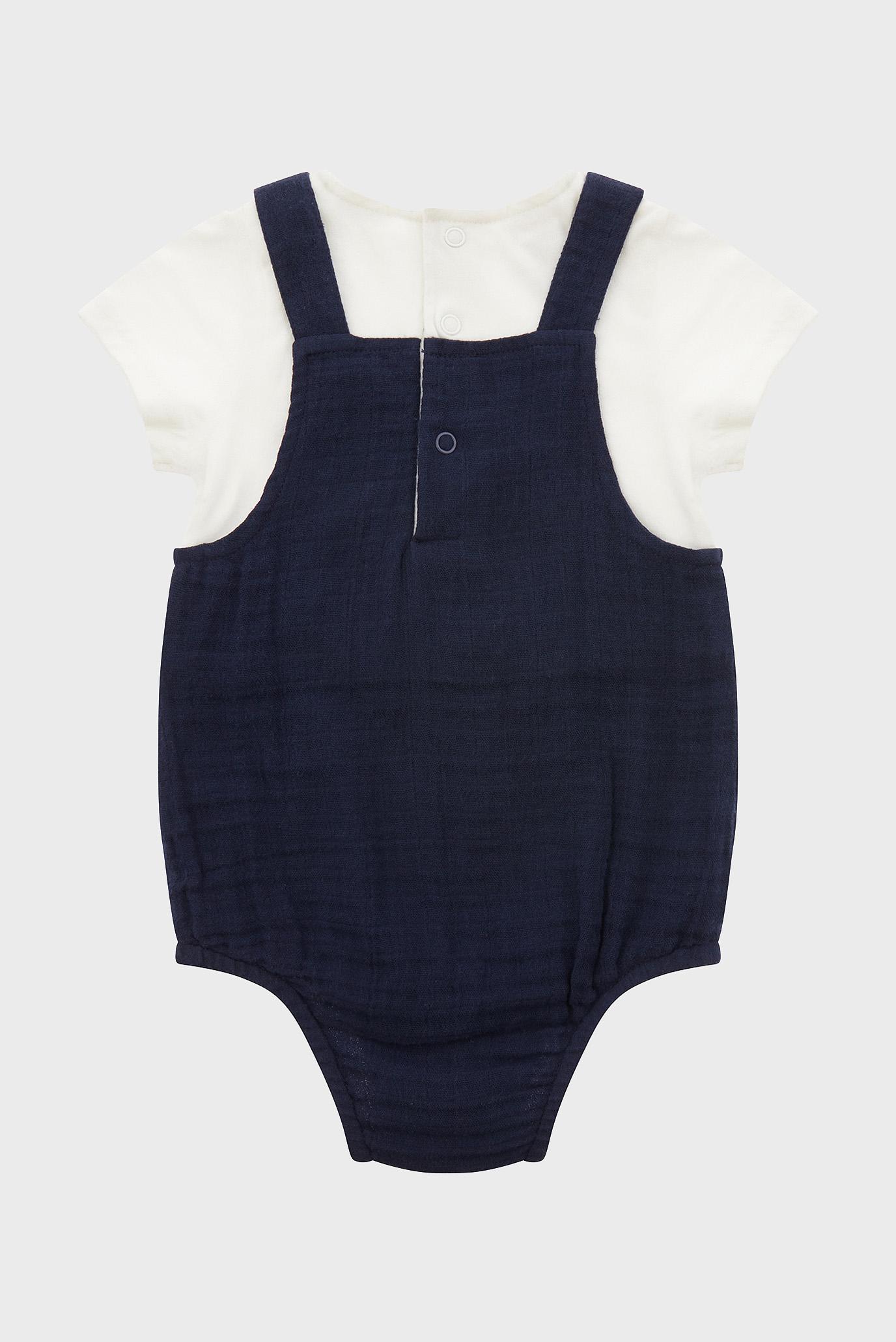 Детский набор одежды NB Baby (комбинезон, футболка) Monsoon Children