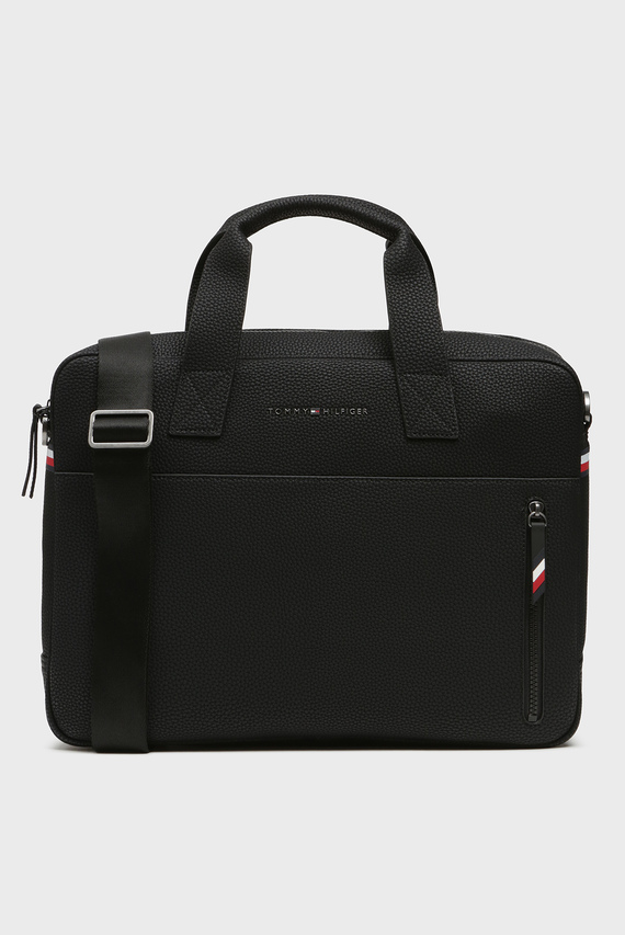 Мужская черная сумка для ноутбука ESSENTIAL