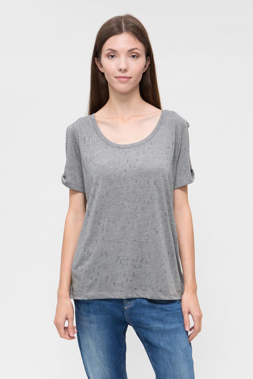 Женская серая футболка