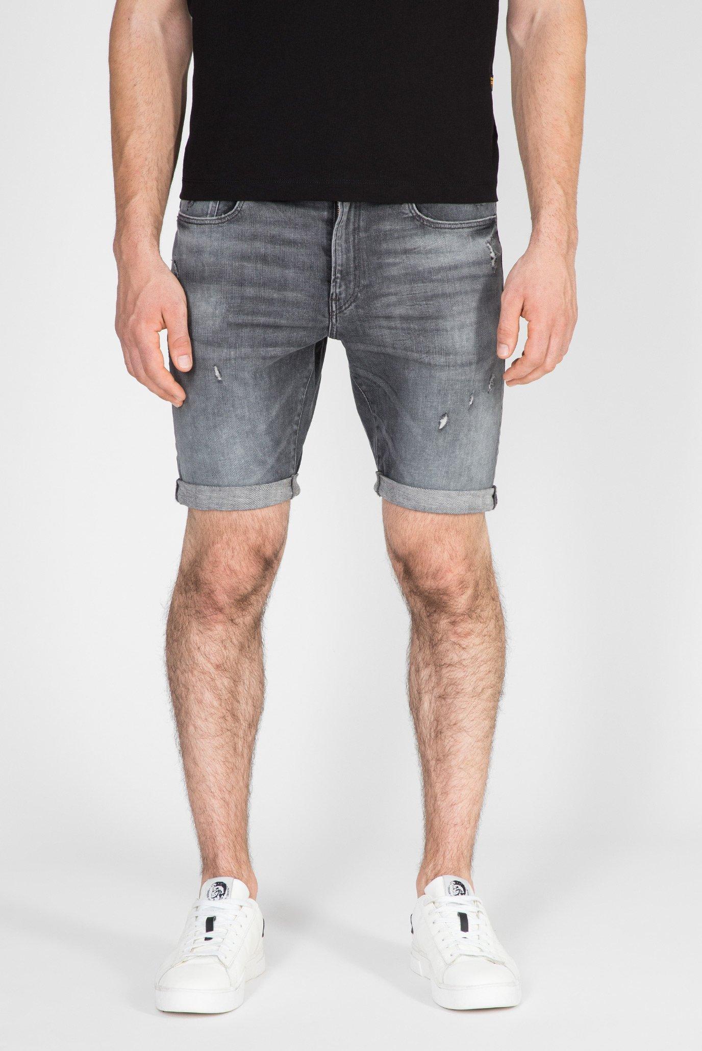 Мужские серые джинсовые шорты 3301 Slim 1