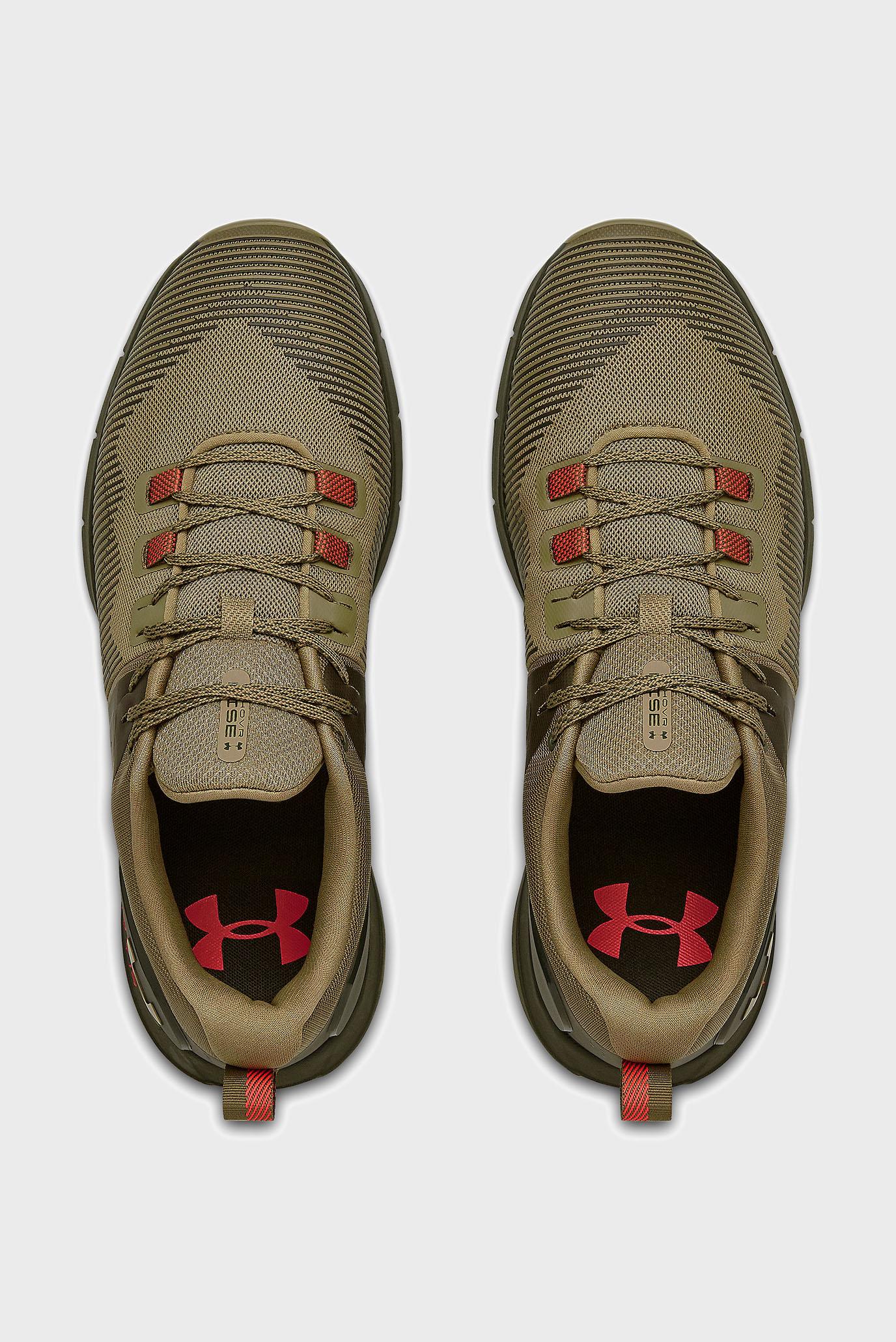 Мужские зеленые кроссовки UA HOVR Rise Under Armour