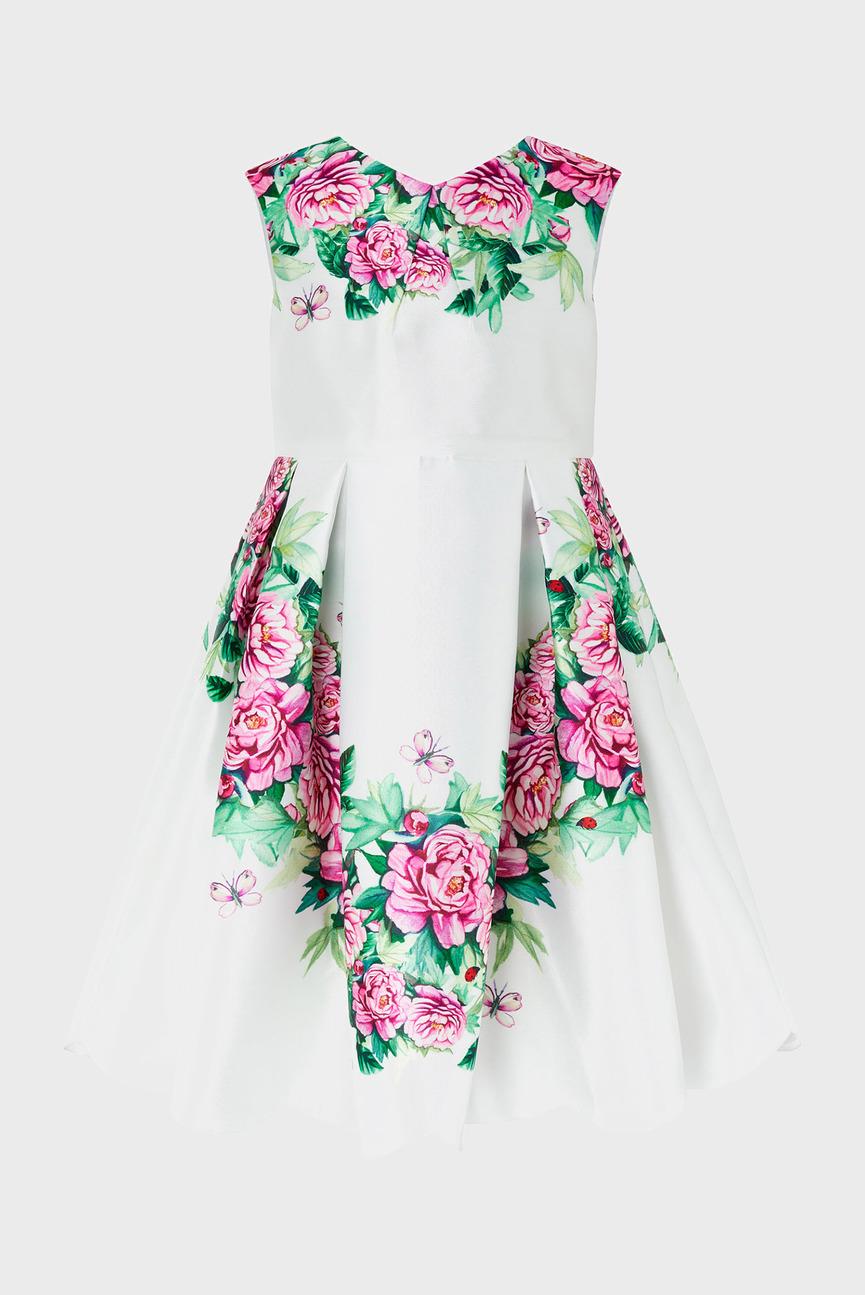 Детское белое платье SINEAD