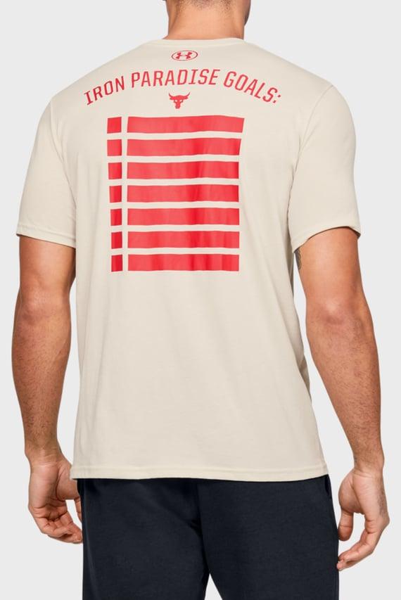 Мужская белая футболка Project Rock HWITR SS-WHT
