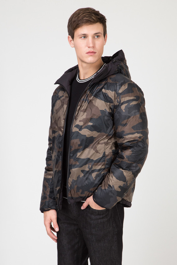 Мужская двусторонняя куртка REGULAR FIT