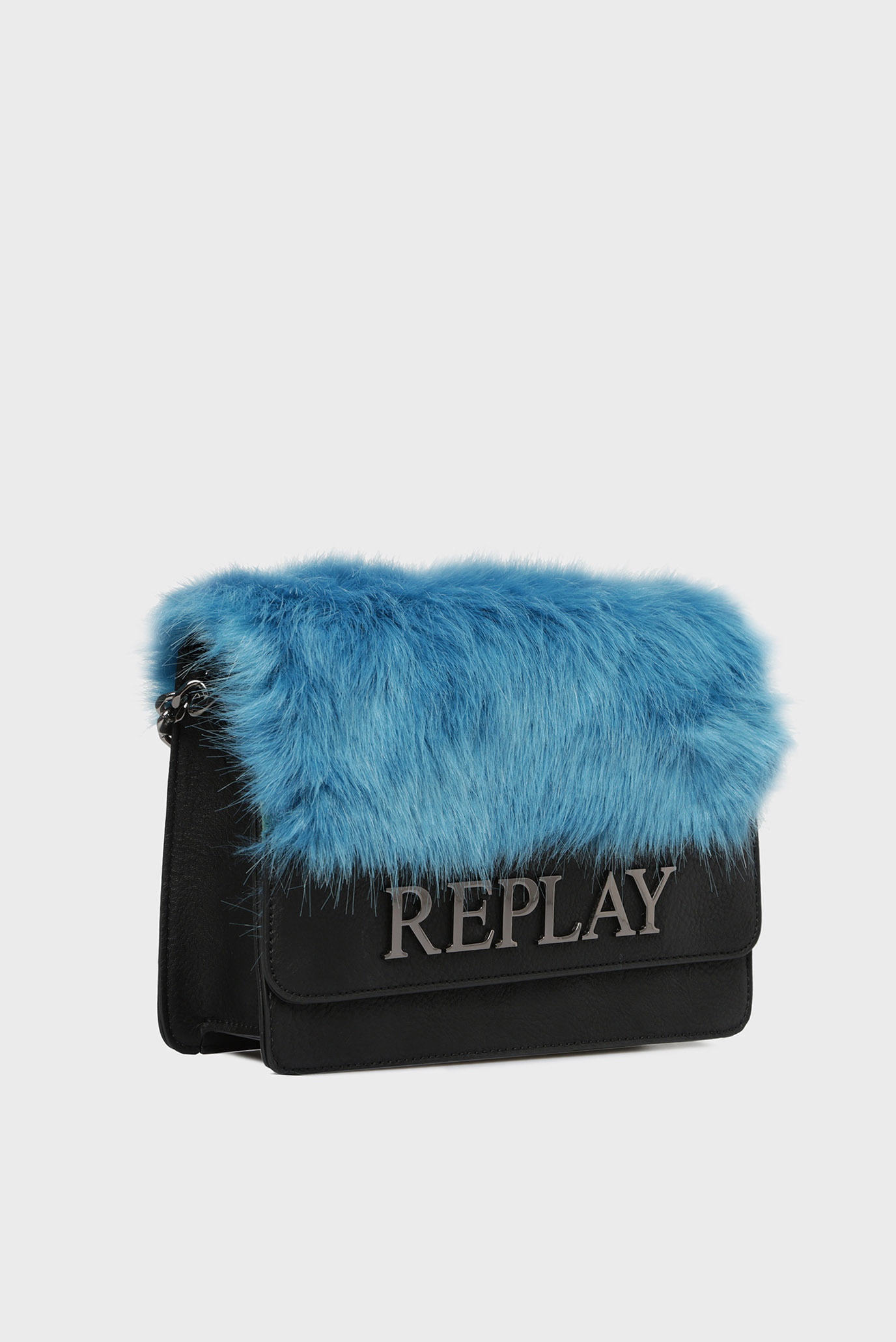 Купить Женская голубая сумка через плечо Replay Replay FW3788.000.A0258 – Киев, Украина. Цены в интернет магазине MD Fashion