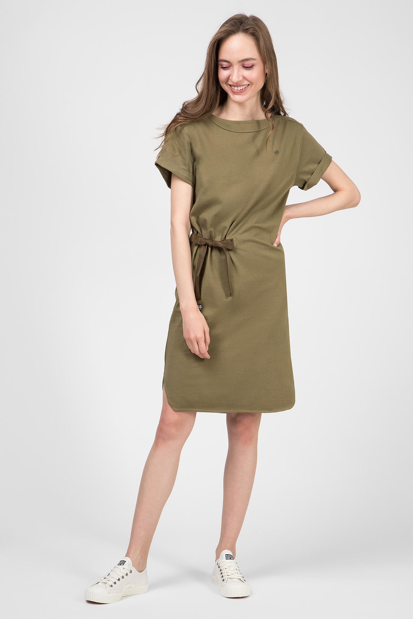 Женское зеленое платье Disem G-Star RAW