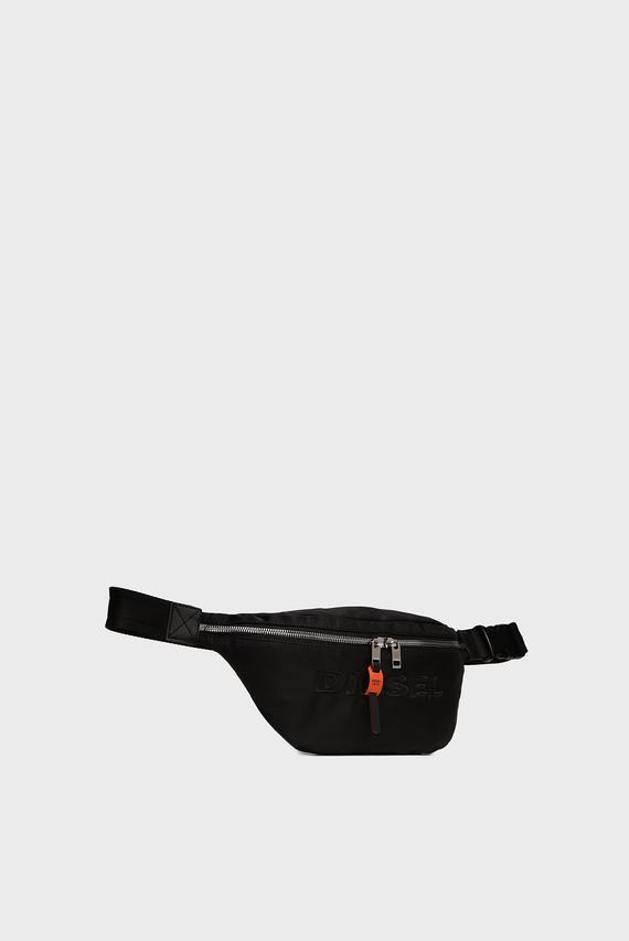 Мужская черная поясная сумка ADANY
