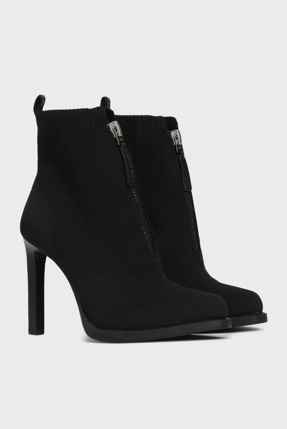 Женские черные ботильоны Strett Heel