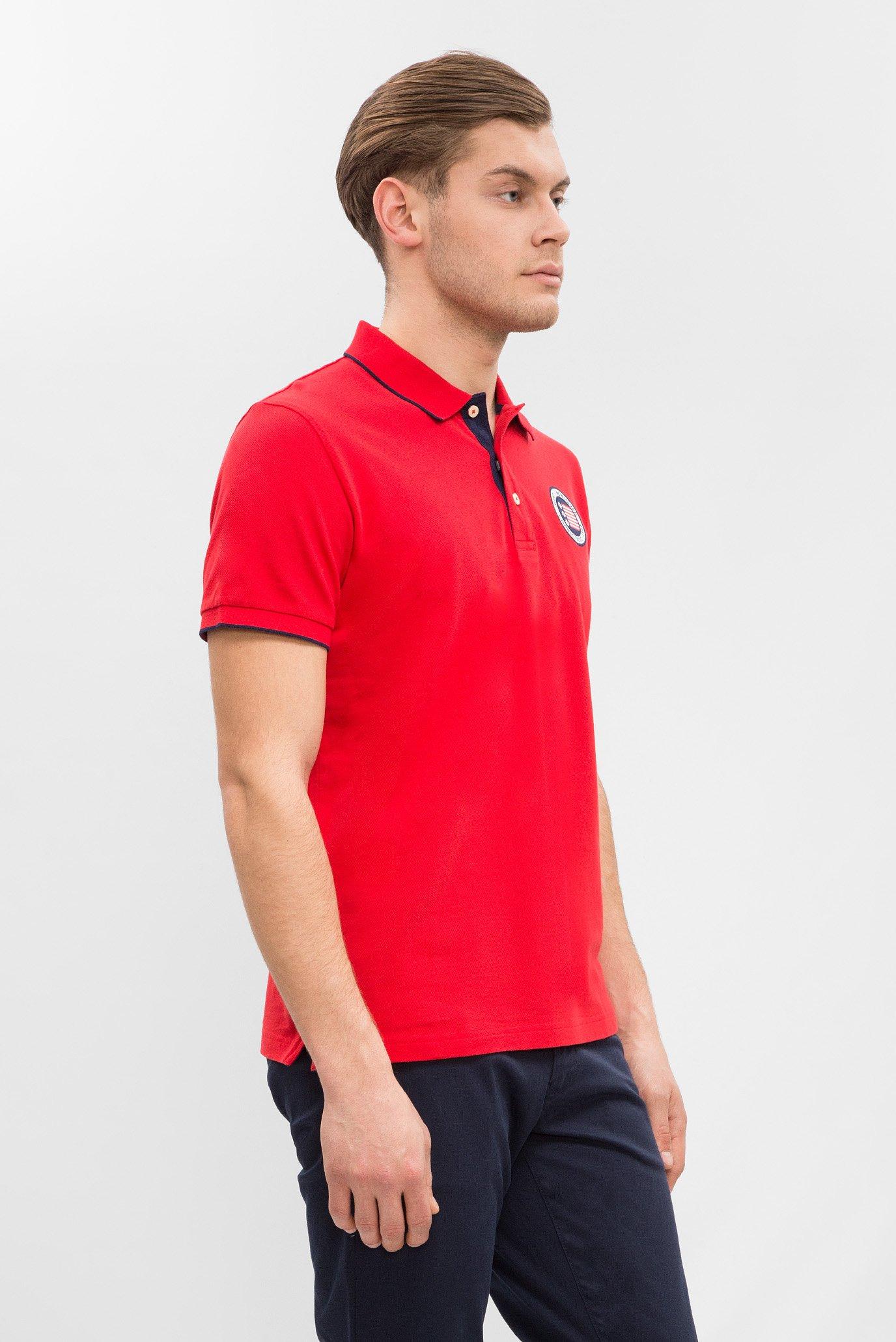 4312a87350645 Купить Мужское красное поло Gant Gant 2022011 – Киев, Украина. Цены в  интернет магазине MD Fashion