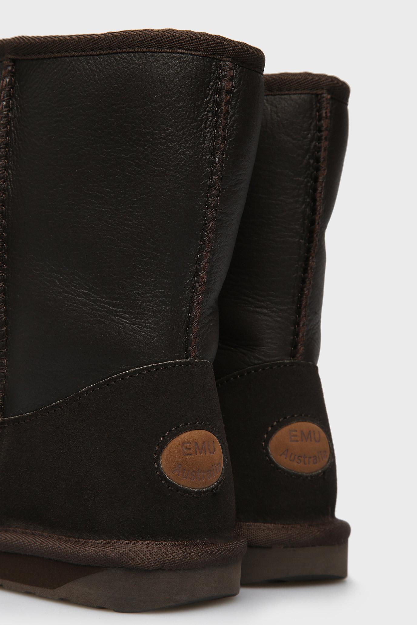 Купить Женские коричневые кожаные угги Townsend EMU Australia  EMU Australia  W10715 – Киев, Украина. Цены в интернет магазине MD Fashion