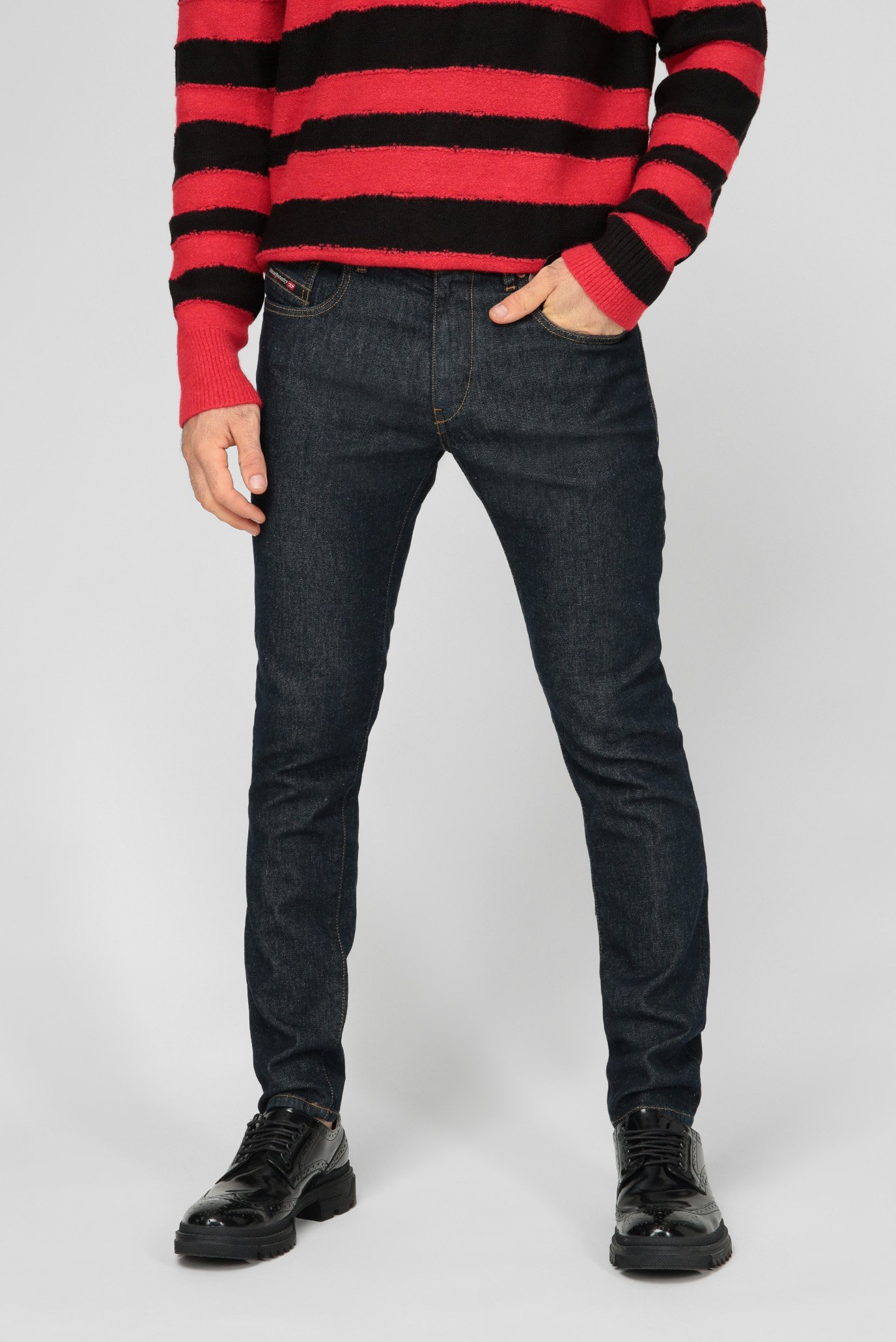 Мужские темно-синие джинсы D-STRUKT 1