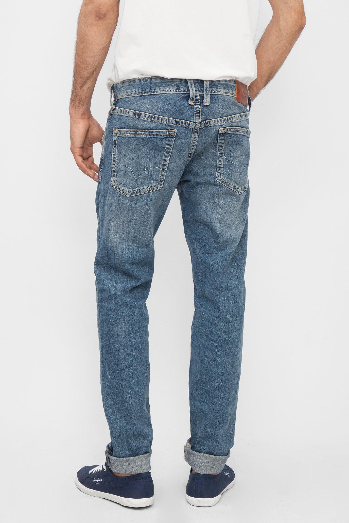Купить Мужские синие джинсы HATCH SL-HATCH Pepe Jeans Pepe Jeans PM200823RA22 – Киев, Украина. Цены в интернет магазине MD Fashion
