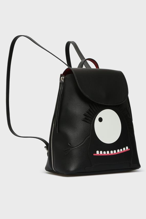 Женский черный рюкзак THE BEAUTY AND THE BEAST