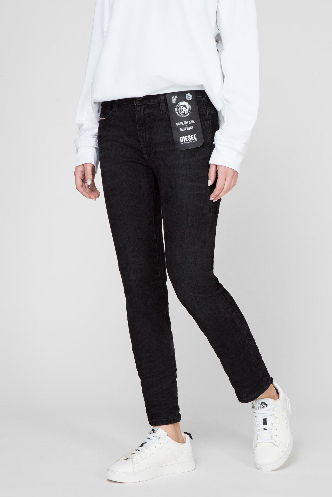 Женские черные джинсы D-RIFTY Diesel