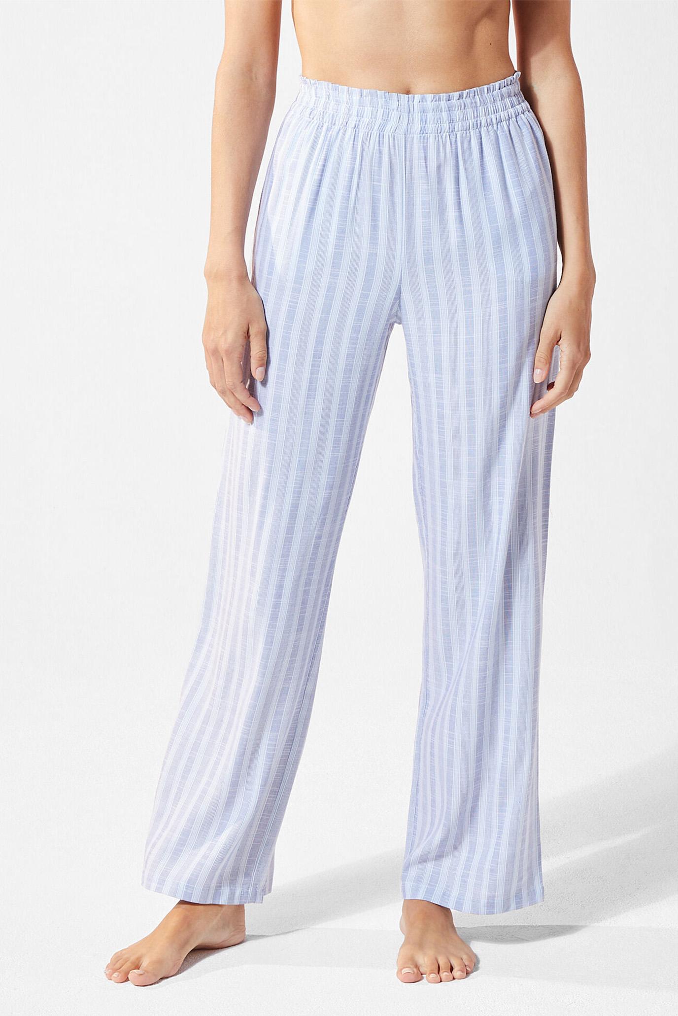 Женские голубые брюки MANAE 1