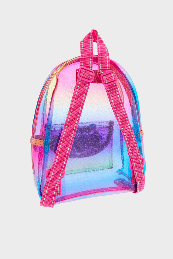 Детский розовый рюкзак OMBRE JELLY SHAKER B