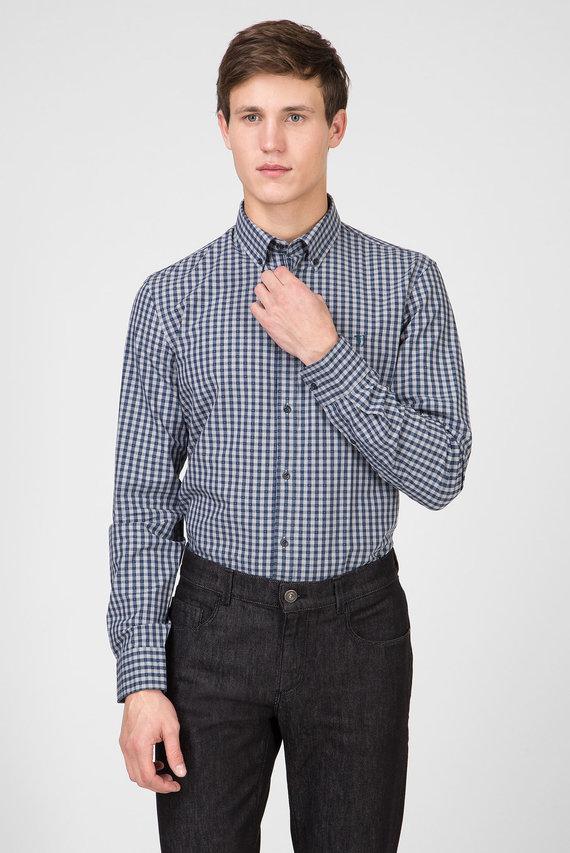 Мужская рубашка в клетку REGULAR FIT