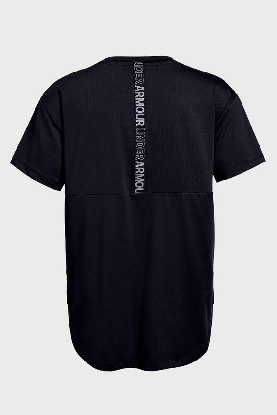 Детская черная футболка Armour HG SS