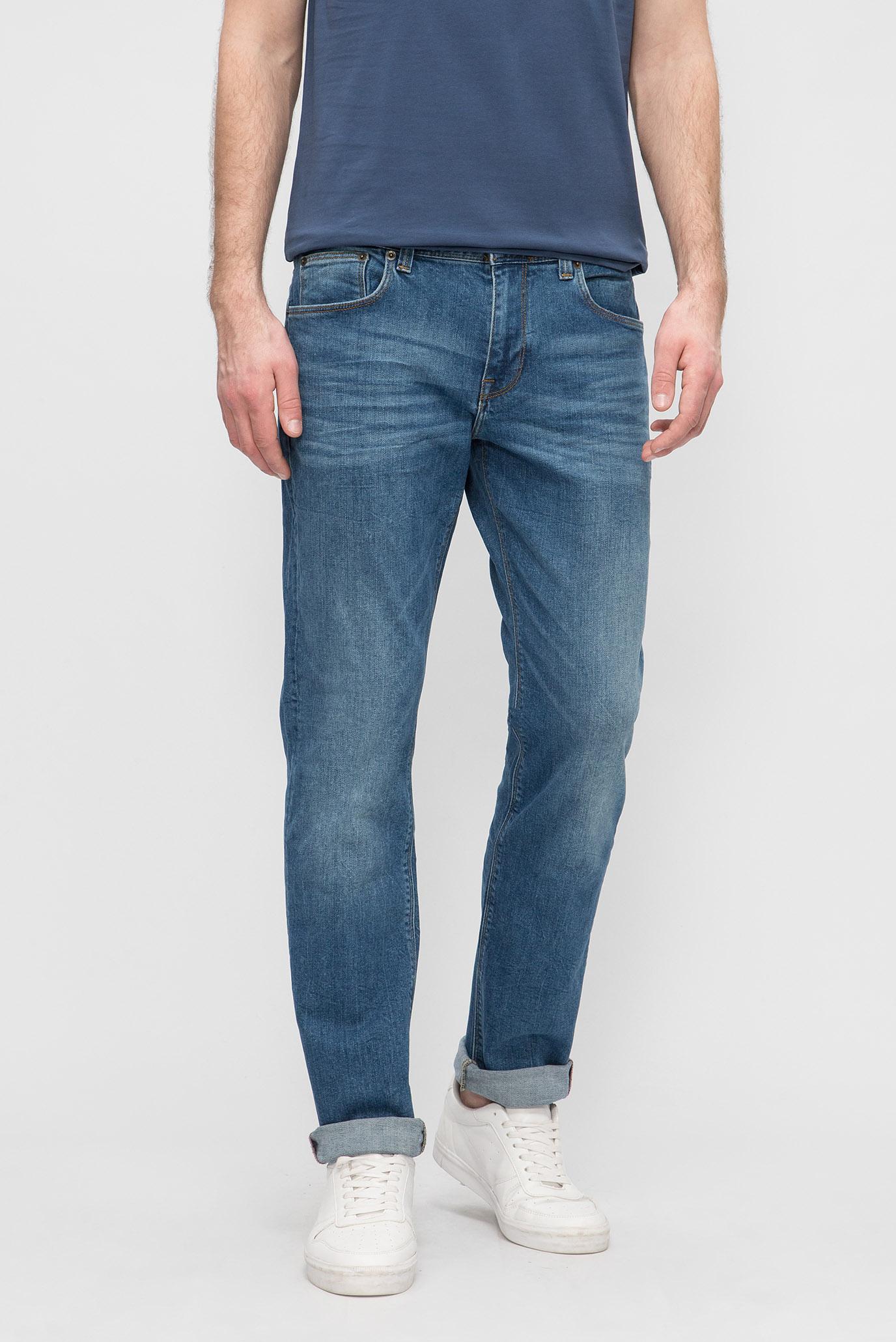 Купить Мужские голубые джинсы DENTON Tommy Hilfiger Tommy Hilfiger MW0MW06566 – Киев, Украина. Цены в интернет магазине MD Fashion