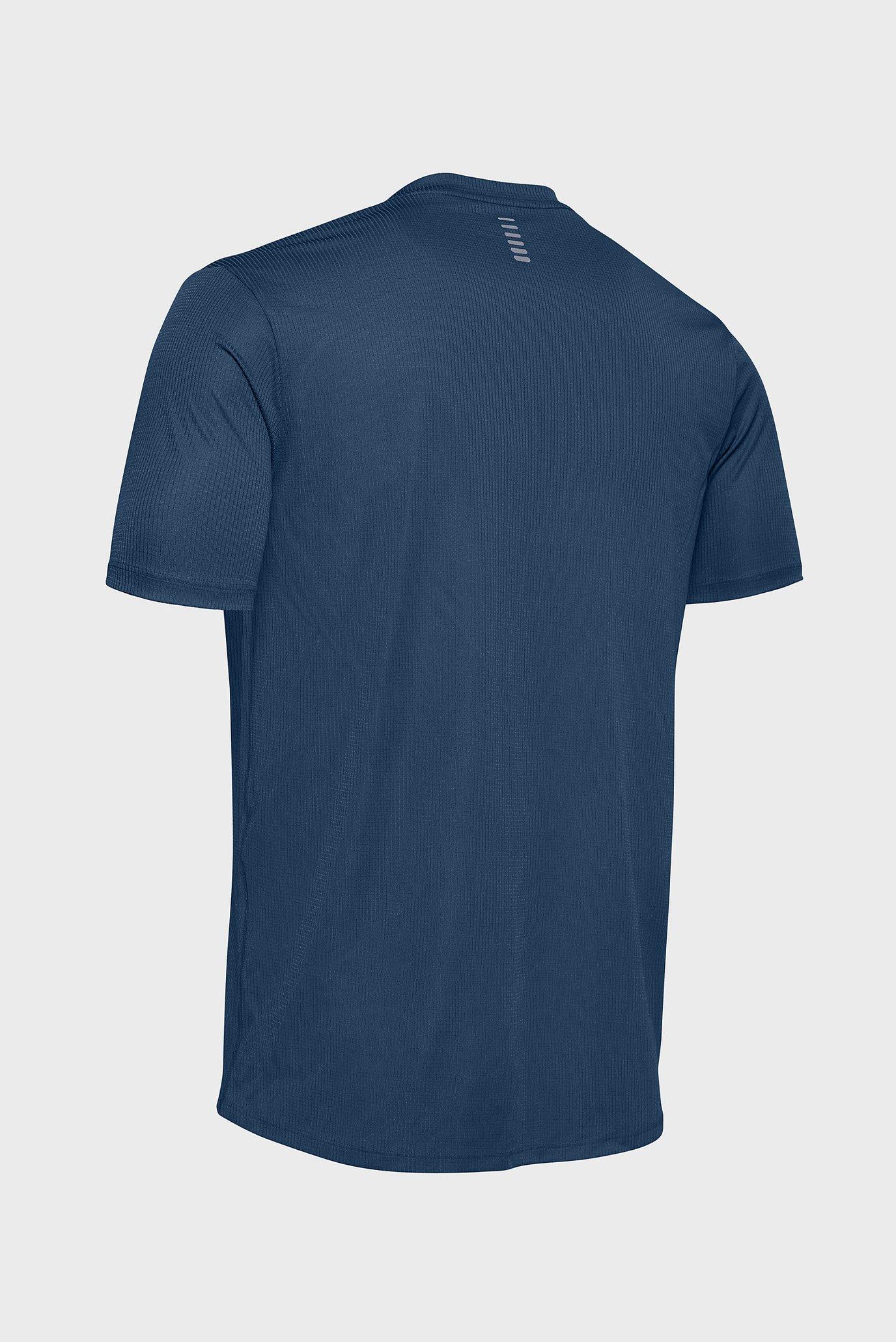 Мужская темно-синяя футболка UA RUN FORM GRAPHIC TEE Under Armour