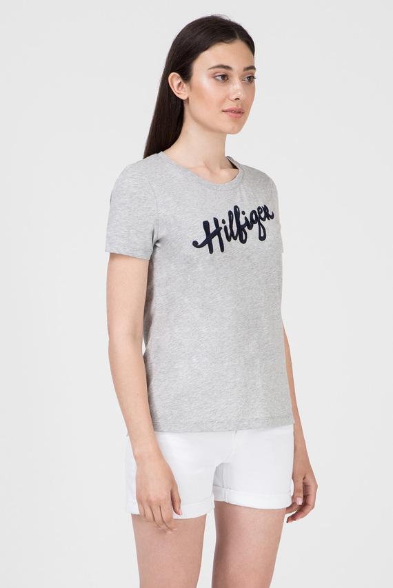 Женская серая футболка VELIA