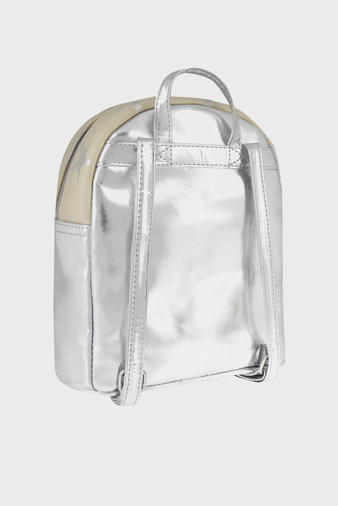 Детский серебристый рюкзак STAR GLITZY BACKPACK Accessorize