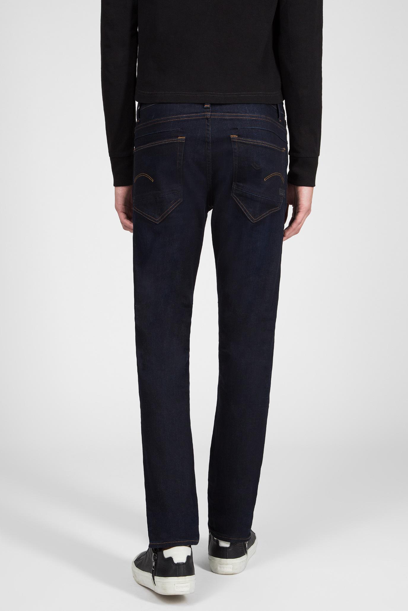 Купить Мужские темно-синие джинсы D-Staq 5-pkt Straight G-Star RAW G-Star RAW D09559,7209 – Киев, Украина. Цены в интернет магазине MD Fashion