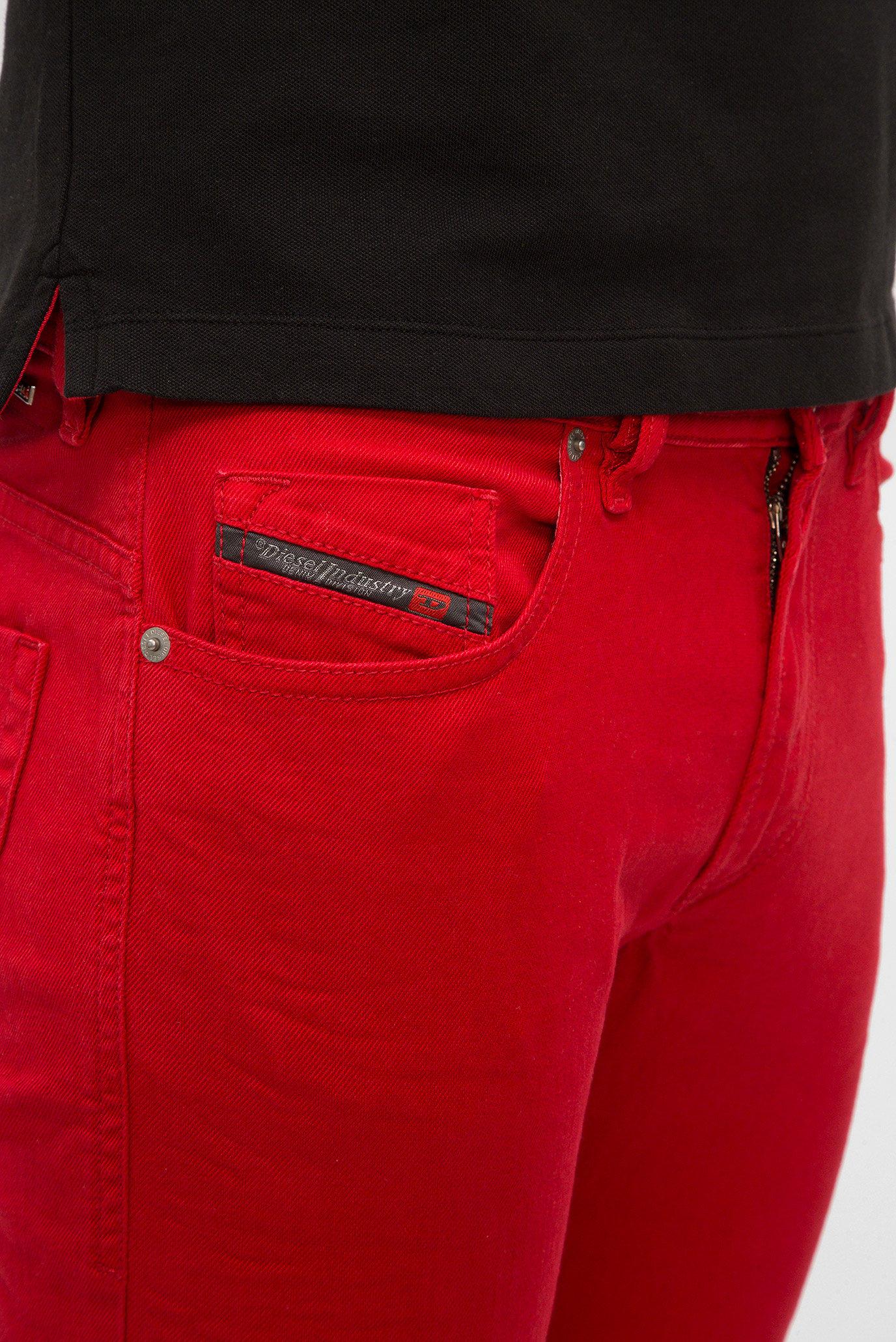 Мужские красные джинсы THOMMER Diesel