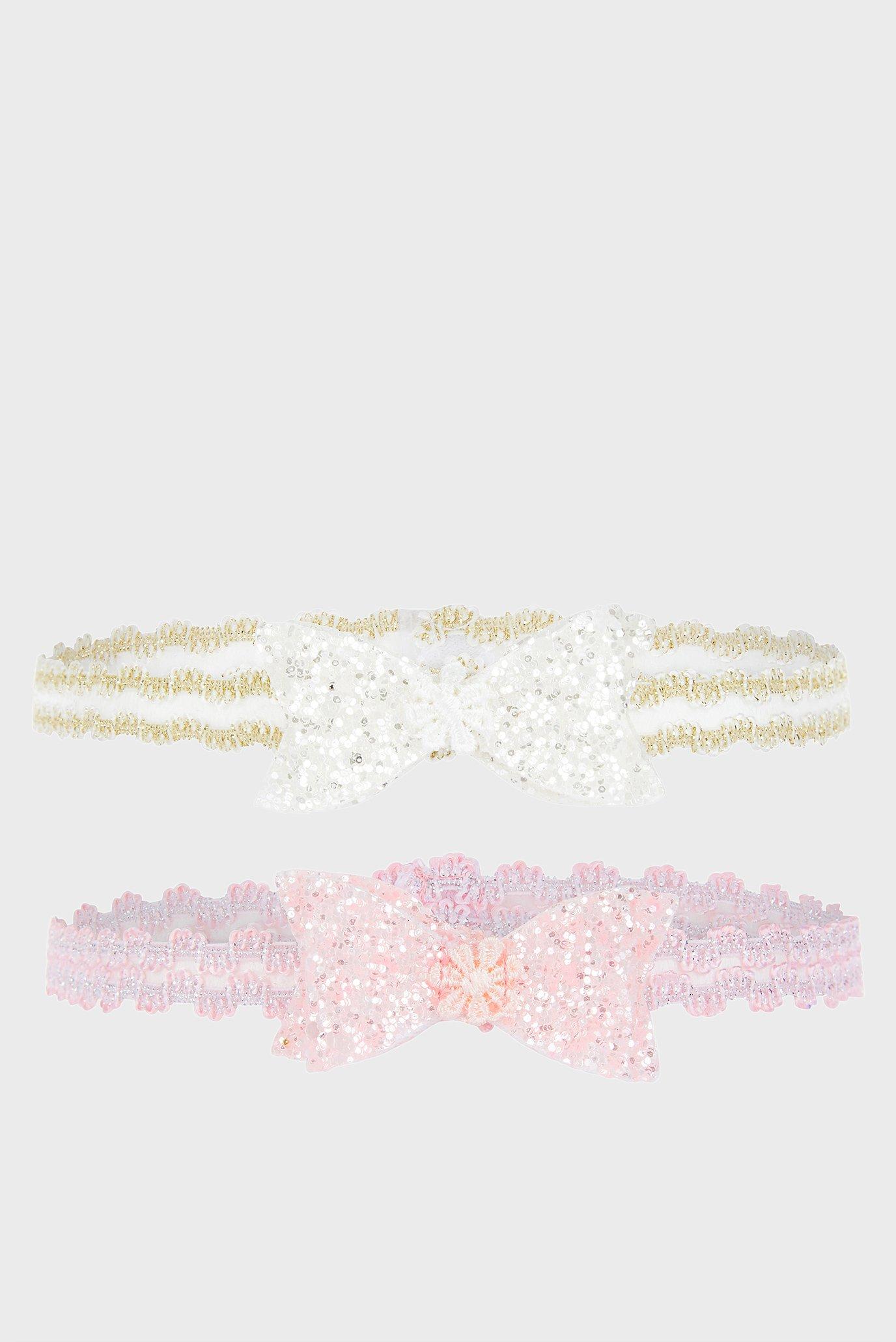 Набор детских повязок Glitter Bow (2 шт) Monsoon Children
