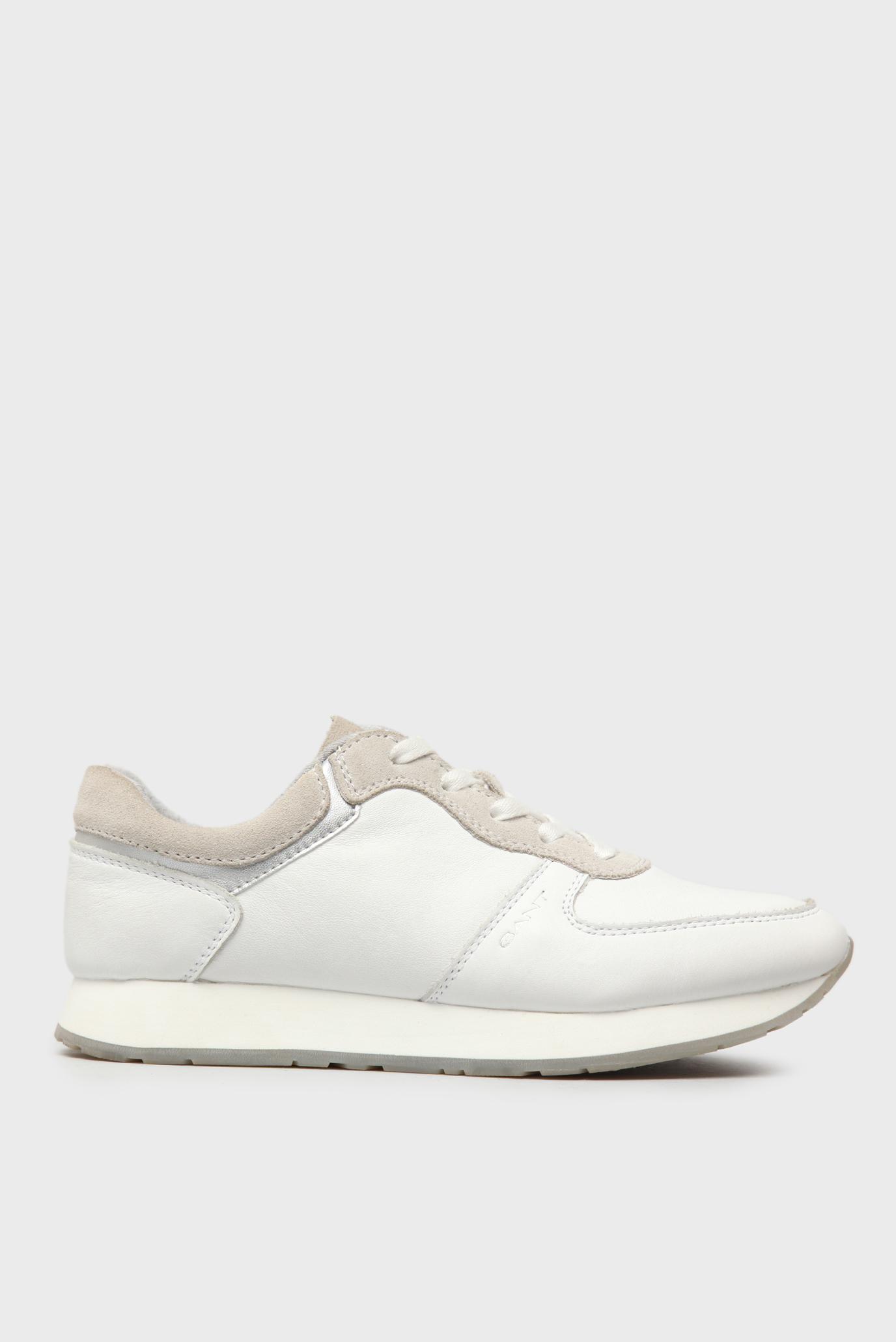 Купить Женские белые кожаные кроссовки Gant Gant 14531664 – Киев ... 9142329d1a2f5