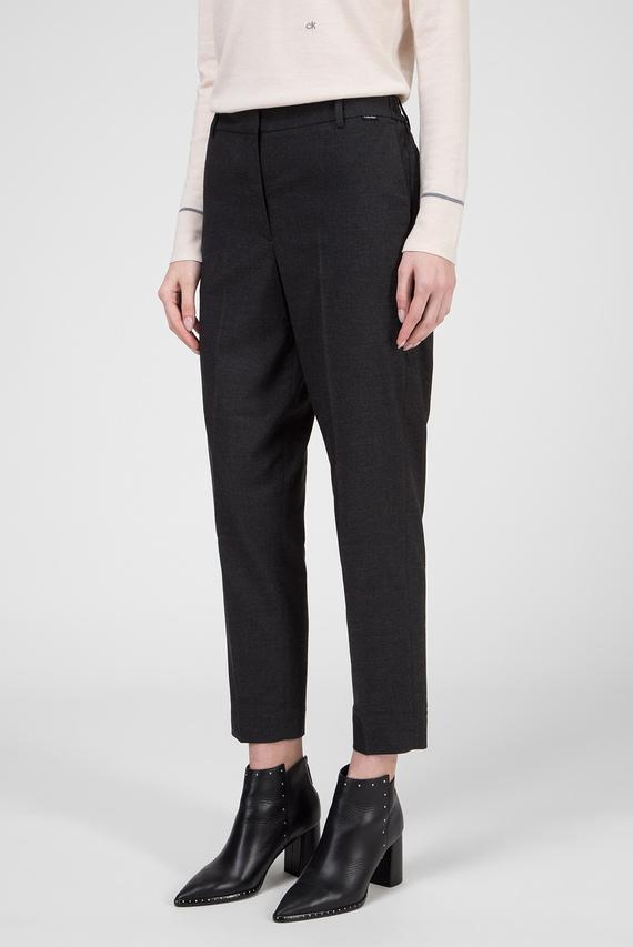 Женские темно-серые брюки
