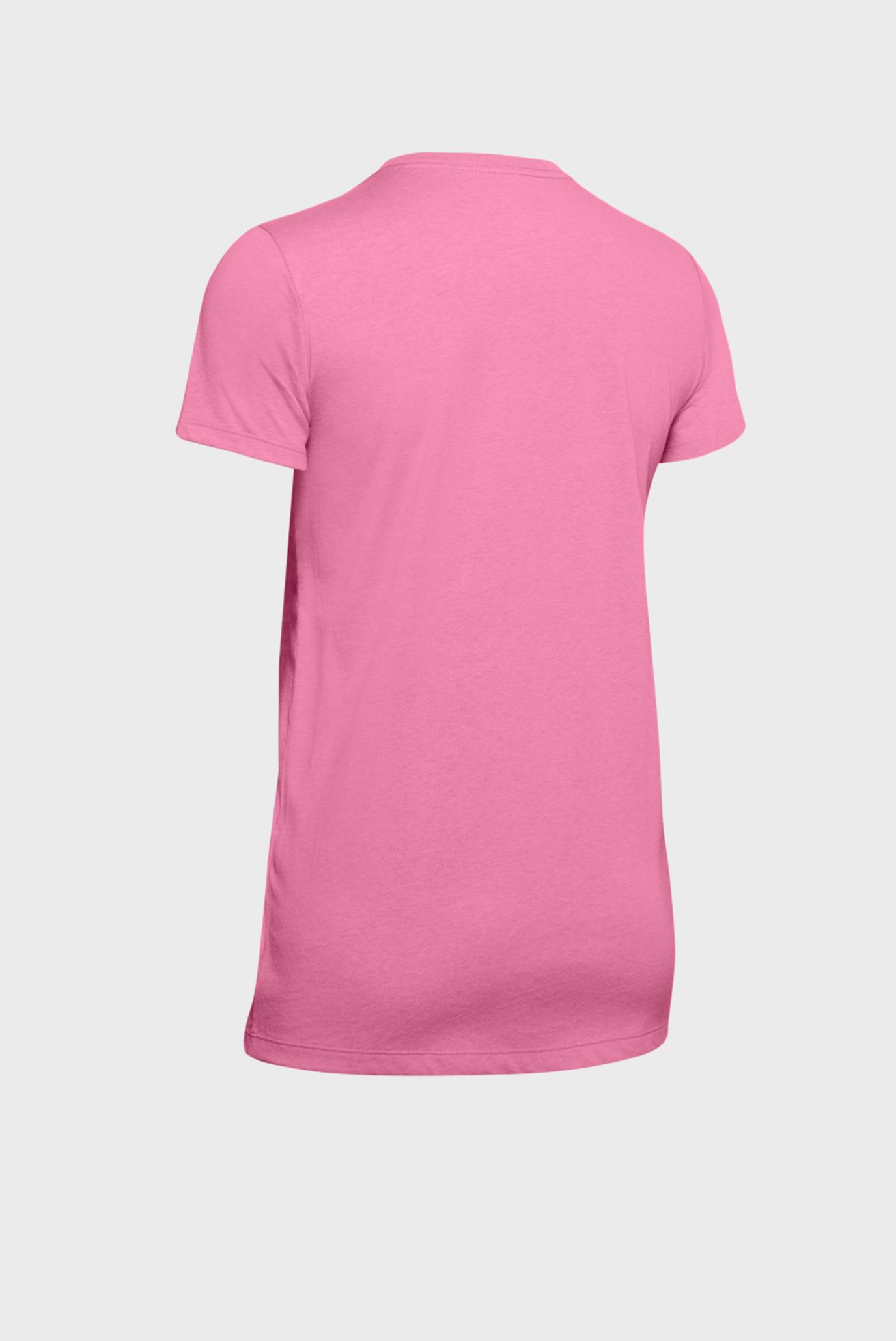 Женская розовая футболка GRAPHIC SPORTSTYLE CLASSIC CREW-PNK Under Armour