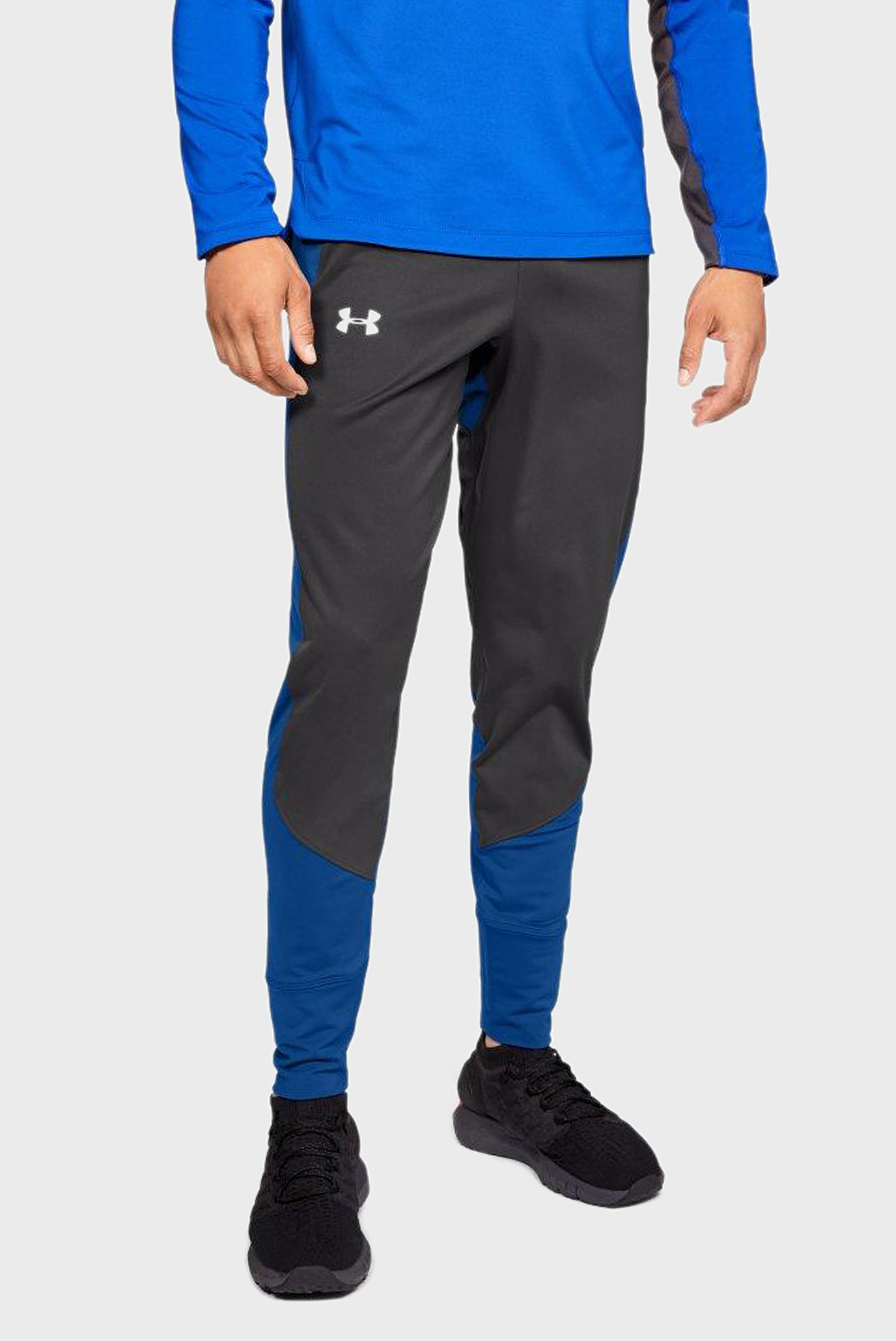 Мужские серые спортивные брюки CG REACTOR RUN SP Under Armour