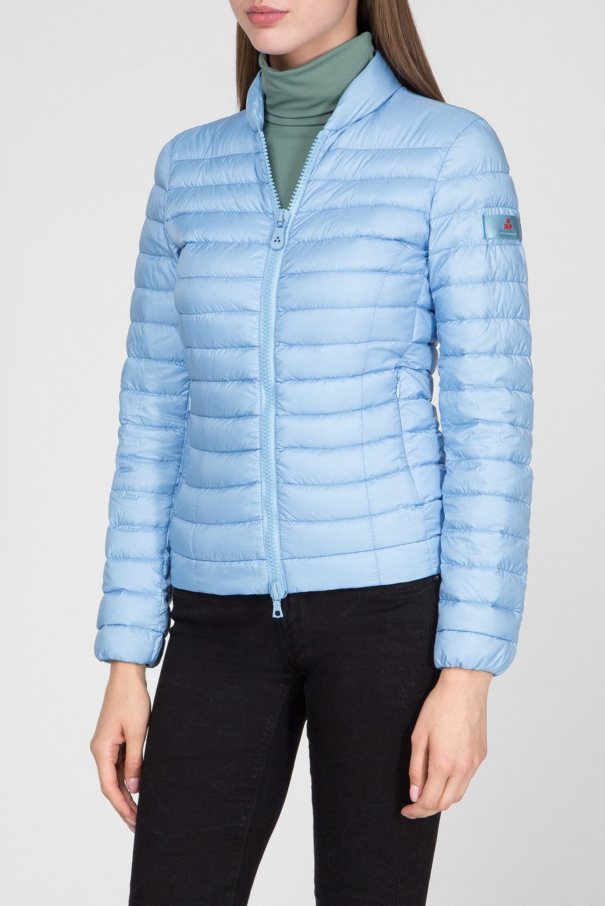 Женская голубая куртка
