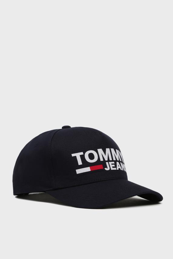 Мужская темно-синяя кепка TJM FLOCK