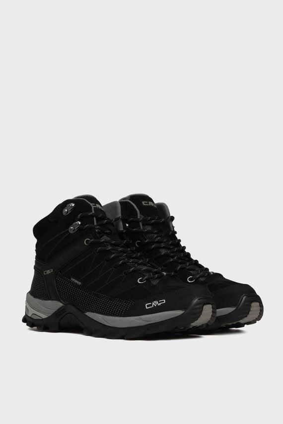 Мужские черные замшевые ботинки