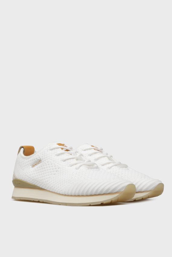 Женские белые кроссовки BEVINDA