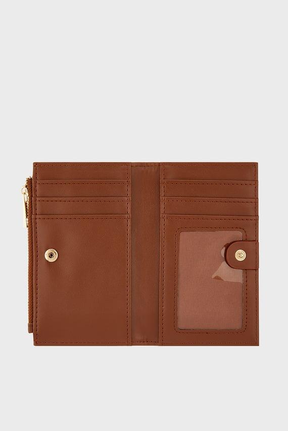 Женский коричневый кошелек Katy Slimline Wallet