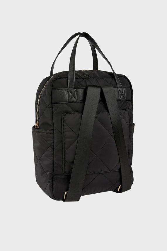 Женский черный рюкзак EMMY QUILTED BACKPACK