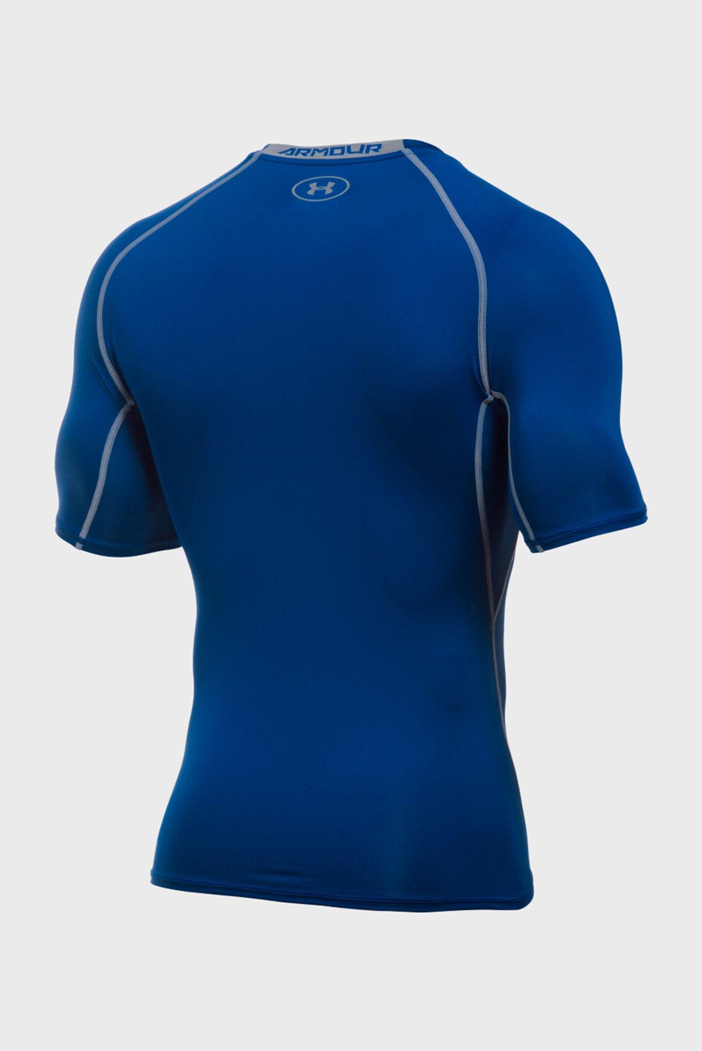 Купить Мужская синяя футболка UA HG Armour SS Under Armour Under Armour 1257468-400 – Киев, Украина. Цены в интернет магазине MD Fashion