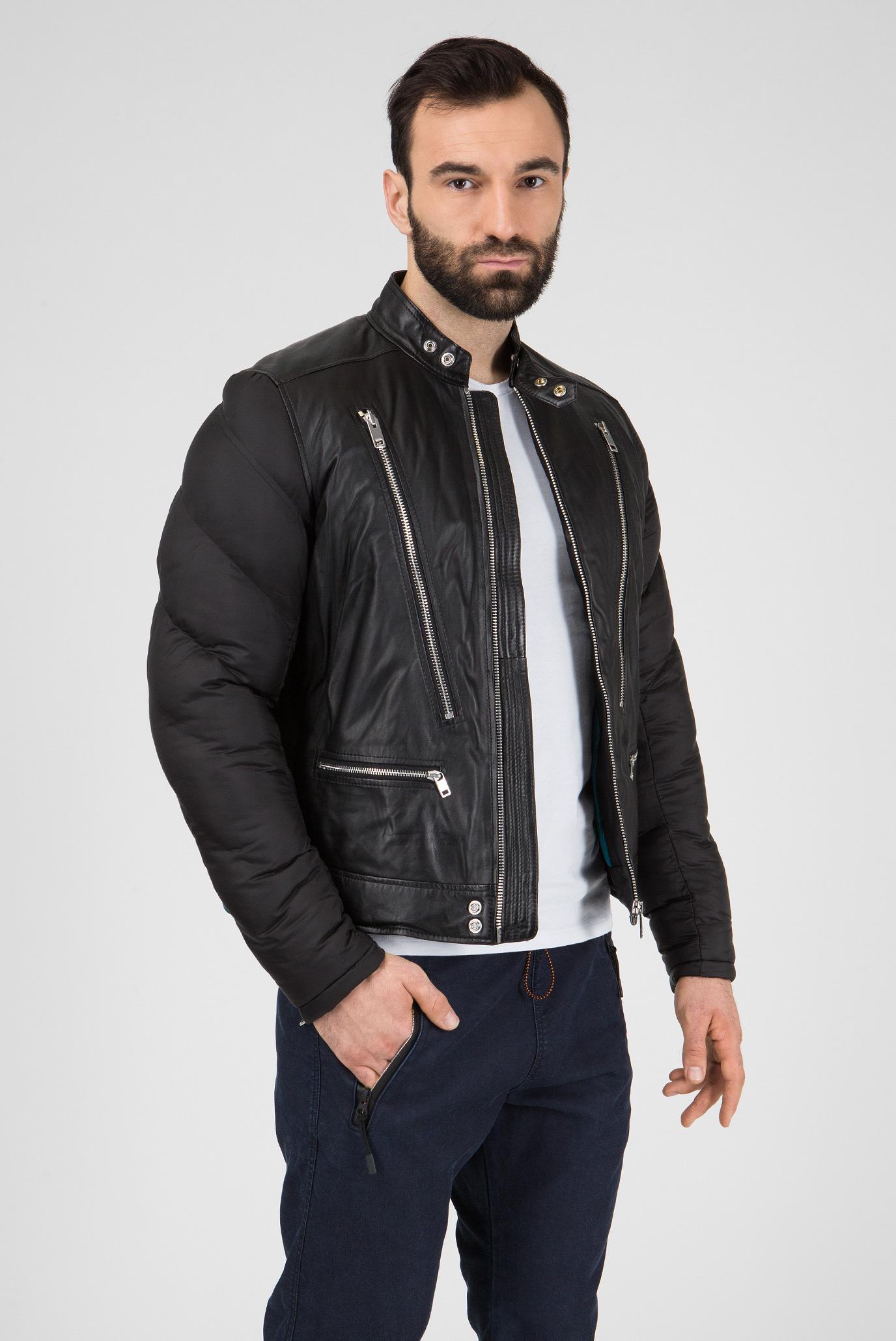 Купить Мужская черная куртка L-WINTER GIACCA Diesel Diesel 00SIFT 0DATW – Киев, Украина. Цены в интернет магазине MD Fashion