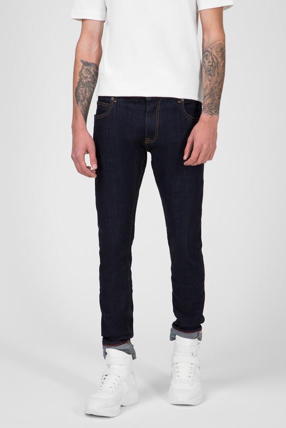Мужские темно-синие джинсы LEWIS HAMILTON SELVEDGE DENIM