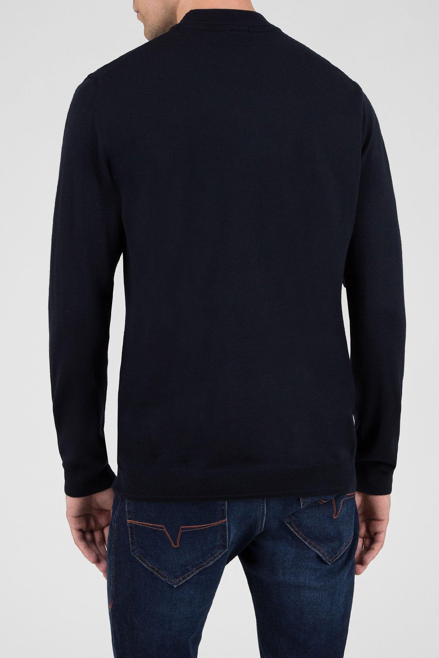 Купить Мужской темно-синий шерстяной джемпер Joop Joop 30006223-405 – Киев, Украина. Цены в интернет магазине MD Fashion