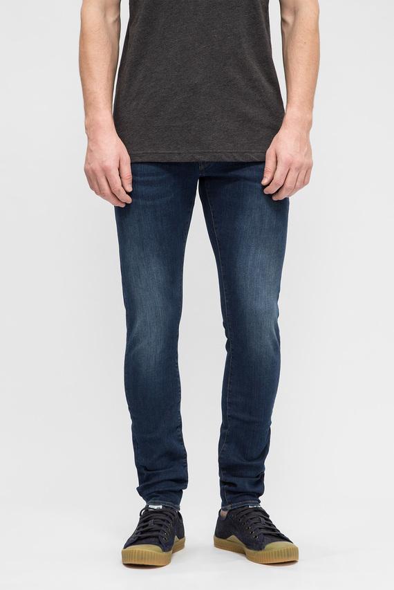 Мужские синие джинсы 3301 Deconstructed Super Slim