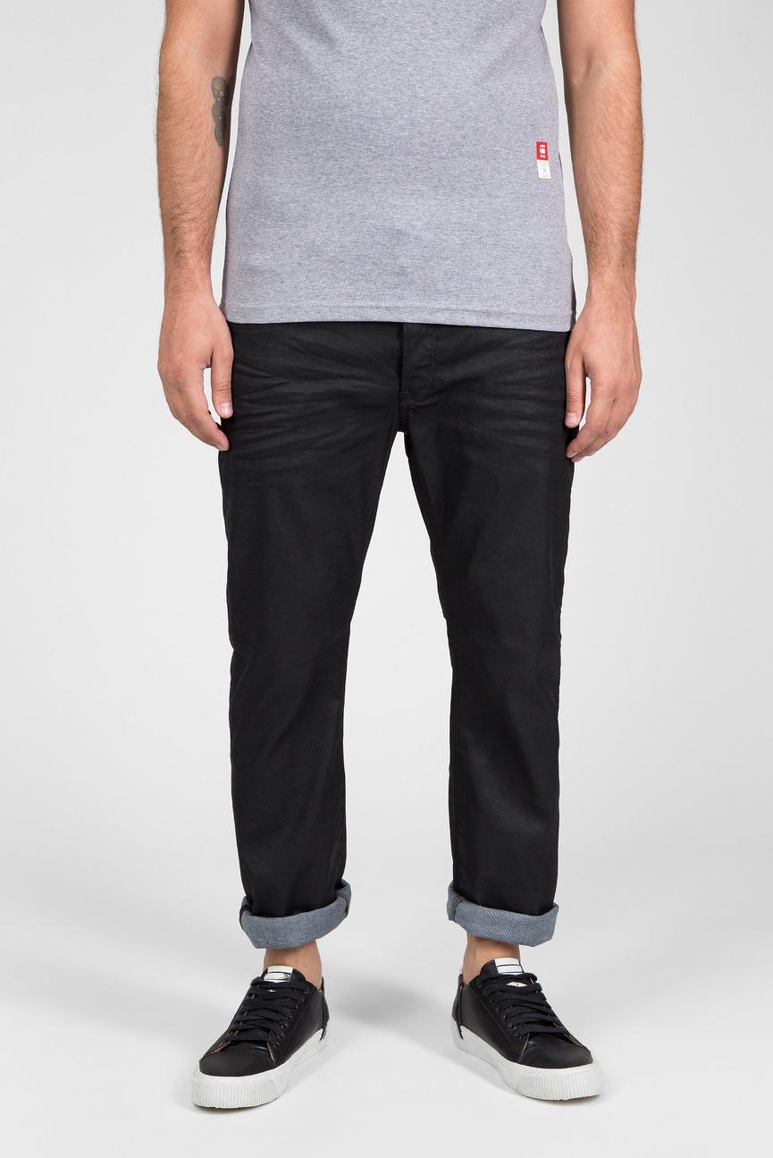 Мужские черные джинсы 3301 Straight
