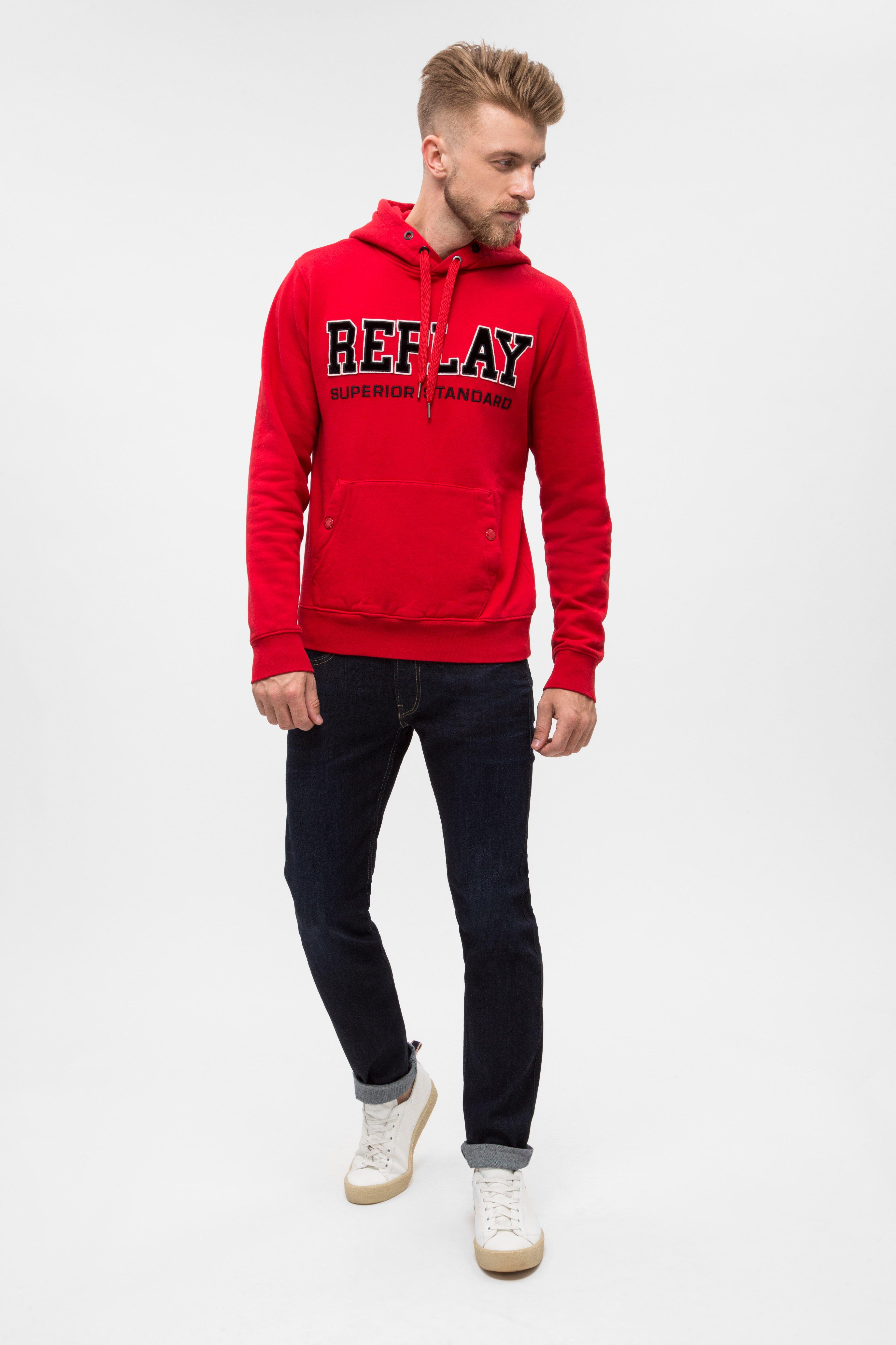 Купить Мужские темно-синие джинсы ANBASS Replay Replay M914Y .000.573 320 – Киев, Украина. Цены в интернет магазине MD Fashion